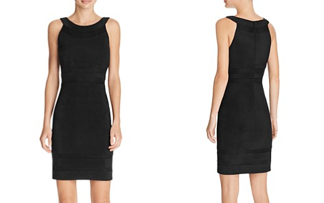 JS Collections Mesh Detail Dress - Bloomingdale's_2