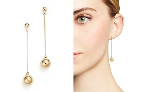 14K Yellow Gold Ball Stud Drop Earrings - 100% Exclusive - Bloomingdale's_2