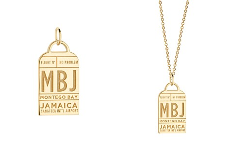Jet Set Candy MBJ Montego Bay Luggage Tag Charm - Bloomingdale's_2