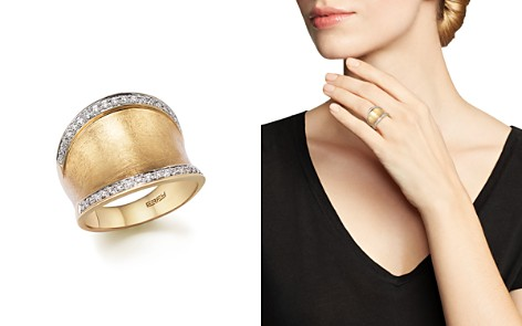 Diamond Wide Band in Matte 14K Yellow Gold, .30 ct. t.w. - 100% Exclusive - Bloomingdale's_2