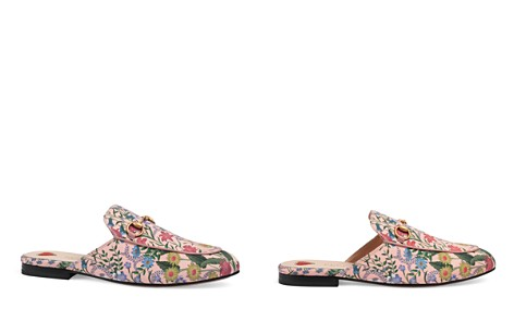 Gucci Women's Princetown Printed Leather Mules - Bloomingdale's_2