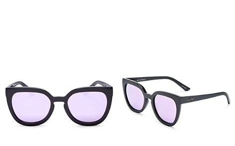 Quay Noosa Mirrored Cat Eye Sunglasses, 52mm - Bloomingdale's_2