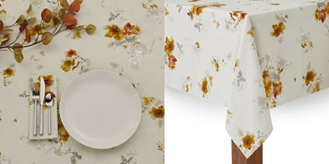 Calvin Klein Watercolor Bloom Table Linen Collection - Bloomingdale's_2