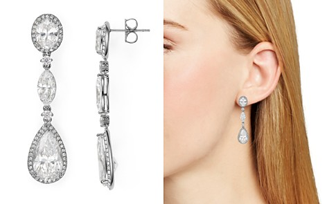 Nadri Oval Drop Earrings - Bloomingdale's_2