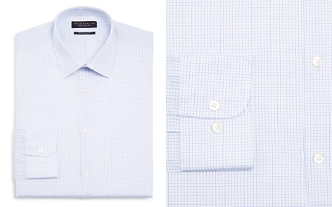 The Men's Store at Bloomingdale's Multi Check Regular Fit Dress Shirt - 100% Exclusive_2