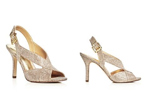 MICHAEL Michael Kors Becky Glitter Crisscross Slingback Sandals - Bloomingdale's_2