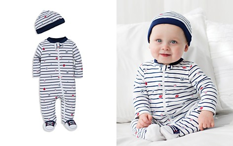 Little Me Boys' Sports Star Footie & Hat Set - Baby - Bloomingdale's_2