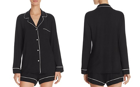 Eberjey Gisele Long Sleeve Short Pajama Set - Bloomingdale's_2