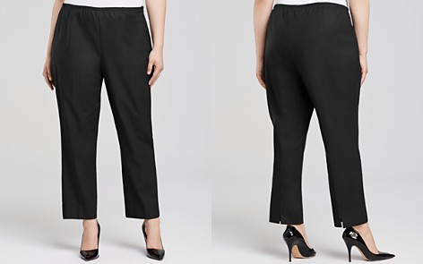 NIC and ZOE Plus Perfect Slit Cuff Straight Pants - Bloomingdale's_2