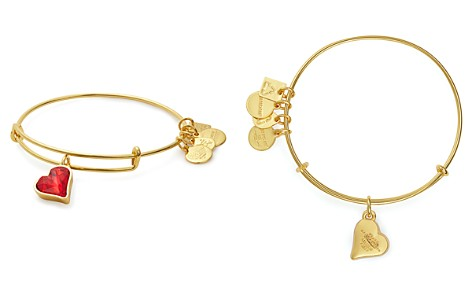Alex and Ani Heart of Strength Expandable Wire Bangle, Charity by Design Collection - Bloomingdale's_2