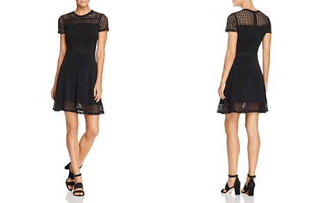 MICHAEL Michael Kors Mesh Panel Dress - Bloomingdale's_2