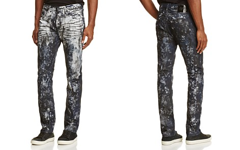 PRPS Goods & Co. Outer Space Slim Fit Jeans in Black - Bloomingdale's_2