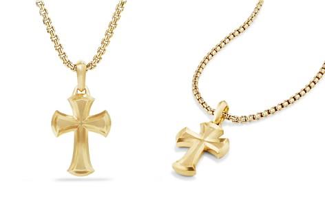 David Yurman Cross Amulet in 18K Gold - Bloomingdale's_2