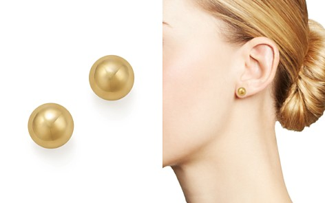 14K Yellow Gold Ball Stud Earrings - 100% Exclusive - Bloomingdale's_2