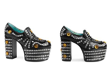 Gucci Amilina Embellished Platform Loafers - Bloomingdale's_2