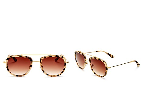 Krewe Women's Breton 24K Aviator Sunglasses, 53mm - Bloomingdale's_2