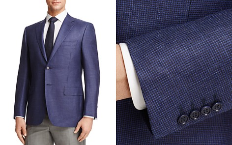 Canali Plaid Classic Fit Sport Coat - Bloomingdale's_2