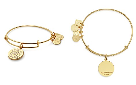 Alex and Ani Live A Happy Life Expandable Wire Bangle - Bloomingdale's_2