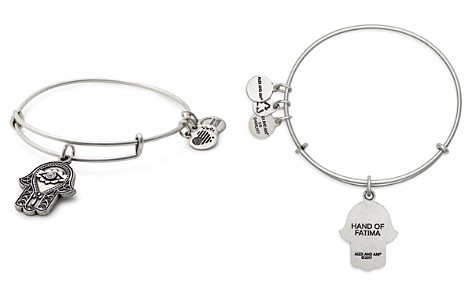 Alex and Ani Hand of Fatima Expandable Wire Bangle - Bloomingdale's_2