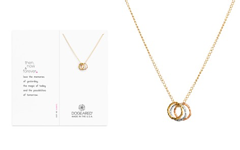 "Dogeared Then Now Forever Necklace, 16"" - Bloomingdale's_2"