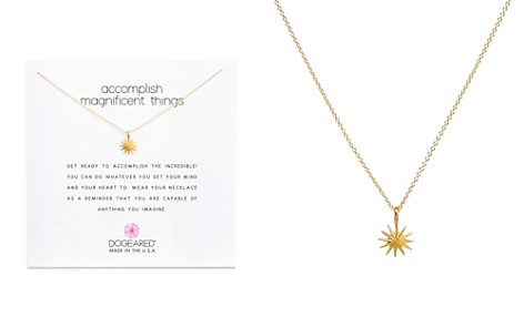 "Dogeared Accomplish Magnificent Things Necklace, 16"" - Bloomingdale's_2"