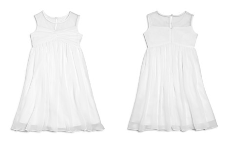 US Angels Girls' Illusion Knot Front Dress - Little Kid - Bloomingdale's_2