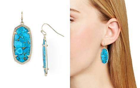 Kendra Scott Signature Elle Drop Earrings - Bloomingdale's_2