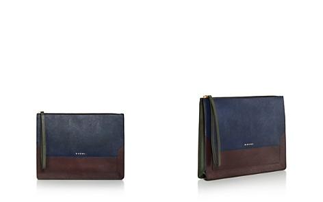 Marni Pouchette Color Block Leather Clutch - Bloomingdale's_2