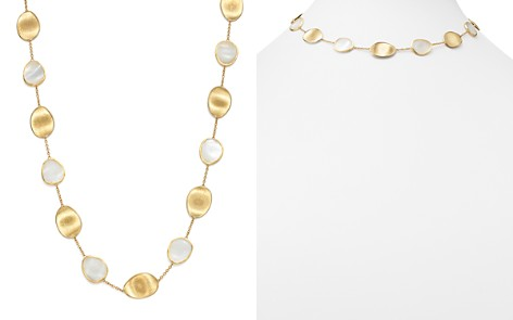 "Marco Bicego 18K Yellow Gold Lunaria Mother-of-Pearl Collar Necklace, 16"" - Bloomingdale's_2"