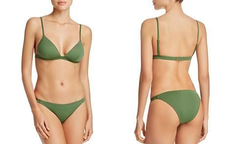 Eberjey So Solid Taylor Bikini Top & So Solid Piper Bikini Bottom - Bloomingdale's_2