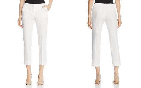 Armani Collezioni Cropped Skinny Pants - Bloomingdale's_2