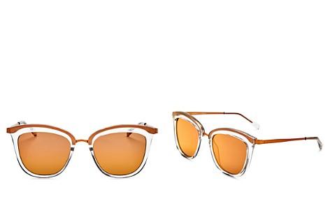 Le Specs Women's Caliente Mirrored Cat Eye Sunglasses, 53mm - Bloomingdale's_2