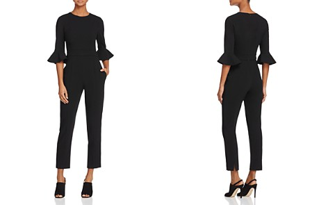 Black Halo Brooklyn Flared-Sleeve Jumpsuit - Bloomingdale's_2