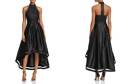 Avery G Lace Halter High/Low Dress - Bloomingdale's_2