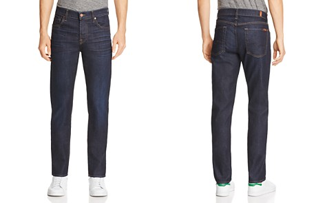 7 For All Mankind Airweft Straight Fit Jeans in Revelry - Bloomingdale's_2