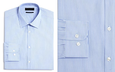 The Men's Store at Bloomingdale's Stripe Regular Fit Dress Shirt_2