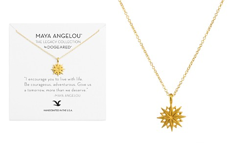 "Dogeared Maya Angelou Legacy Collection ""I Encourage You"" Necklace, 16"" - Bloomingdale's_2"