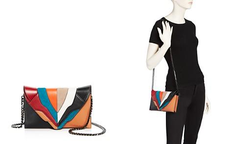 ELENA GHISELLINI Selina Color Block Leather Clutch - Bloomingdale's_2