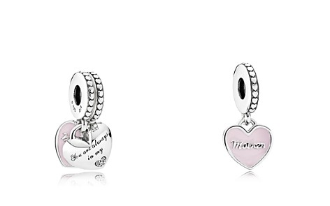 PANDORA Sterling Silver & Enamel Mother & Daughter Charm - Bloomingdale's_2