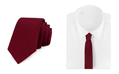 Bloomingdale's Boys Boys' Twill Solid Tie - 100% Exclusive _2
