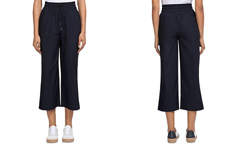Whistles Cropped Flare Jogger Pants - Bloomingdale's_2