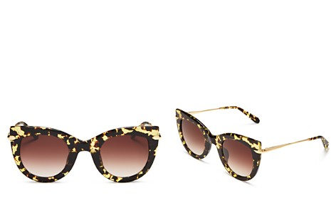 Krewe Women's Laveau 24K Gradient Cat Eye Sunglasses, 48mm - Bloomingdale's_2