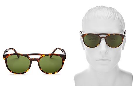 Prada Brow Bar Round Sunglasses, 53mm - Bloomingdale's_2