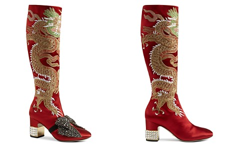 Gucci Candy Embroidered Tall Boots - Bloomingdale's_2