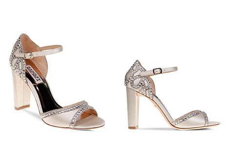 Badgley Mischka Kelly Embellished Satin High-Heel Sandals - Bloomingdale's_2