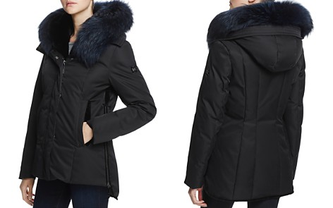 Dawn Levy Luka Fur Trim Down Coat - 100% Exclusive - Bloomingdale's_2