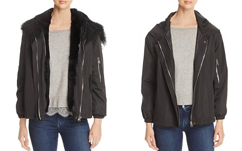 Maximilian Furs Rabbit Fur Lined Jacket - 100% Exclusive - Bloomingdale's_2