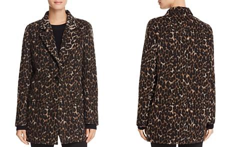 T Tahari Kendall Leopard Print Coat - Bloomingdale's_2