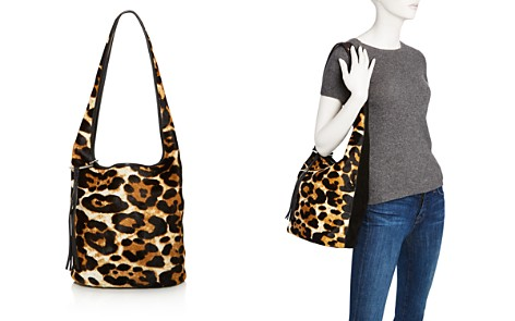 Elizabeth and James Finley Courier Leopard Print Calf Hair Hobo - 100% Exclusive - Bloomingdale's_2