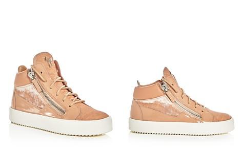 Giuseppe Zanotti May London Velvet High Top Platform Sneakers - Bloomingdale's_2